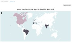 """World Map Report • <a style=""""font-size:0.8em;"""" href=""""http://www.flickr.com/photos/45221851@N02/8411098187/"""" target=""""_blank"""">View on Flickr</a>"""