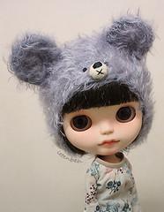 Totie love her new hat