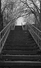 stairs (Igor Golovnov) Tags: old light shadow urban blackandwhite brown sunlight white black texture monochrome strange up stone wall mystery sepia architecture stairs vintage dark way underground hope beige ancient exterior view darkness outdoor antique space nowhere perspective descent nobody retro stairway climbing staircase mysterious block aged banister ascent descending ascending