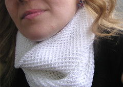 P1010140 (kosha_knit) Tags: scarf knit cotton honey cowl 2013