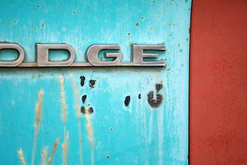 The Old Dodge Truck