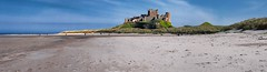 BAMBURGH CASTLE (WAPPY AL) Tags: sea summer sky holiday castle beach beautiful warm bev sunny pete bamburgh dayout
