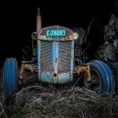 Ferguson (Tore Thiis Fjeld) Tags: old tractor color detail abandoned norway nikon rust getty motor 1952 d800 massey massayferguson