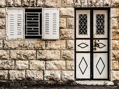 Door #3 (Nidal.Elwan) Tags: door old house art window wall israel doors palestine westbank ramallah nablus jerusalem olympus walls past zuiko israeli  evolt nidal palestinian e500  nidale       s95      sinjil       elwan  needoo77