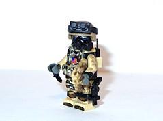 Tactical Assault Unit 32 (Black Sun Customs) Tags: sun black brick modern cat lego flag american tiny figure vest minifig customs warfare tactical comabt