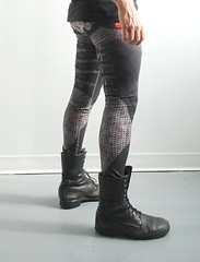 Armour + Chainmail printed leggings (heatherjoan) Tags: stockings fashion hands legs boots cosplay tights medieval womens mens printed knuckles larp leggings roleplay chainmaille mitmunk