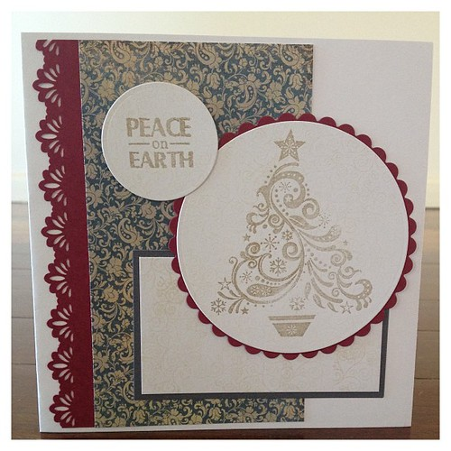 Christmas card. #cardmaking