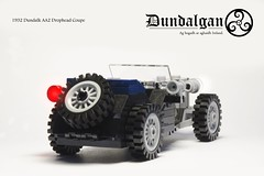 1932 Dundalgan AA2 Drophead Coupe (ChrisElliottArt) Tags: blue chris black art car 1932 vintage toy toys photography photo lego antique convertible photograph legos vehicle coupe elliott moc aa2 drophead dundalgan