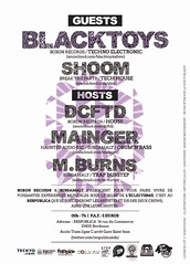 Flyer Party#3 - Verso