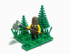 Bolor Methat (Jackbrick101) Tags: hammer forest scenery fighter lego helmet mini medieval warrior bf diorama slave minifigure barbarian methat backstory bolor brickforge