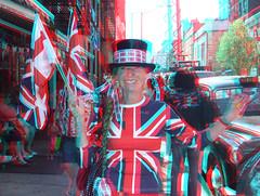 3D Royal Wedding VI (Mondo Circus Imaging) Tags: wedding england stereoscopic 3d kate royal anaglyph william unionjack royalwedding briton stereographic teaandsympathy katemiddleton