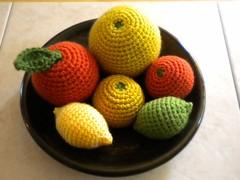 Amigurumi Citrus Fruits (jukatca) Tags: orange lemon crochet grapefruit mandarin lime amigurumi