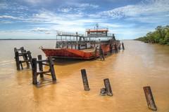 Unused Ferry (Yarn [Molhaza]) Tags: seascape ferry river foto transport transportation vehicle scape hdr highdynamicrange fotografi feri riverscape sifoocom hdrbyyarn hdrlegion