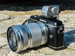 Olympus PEN E-P3 with M.Zuiko Digital 40-150/4-5.6 and VF-3 electronic viewfinder (The Adventurous Eye) Tags: camera 3 digital pen zoom olympus electronic zuiko ep external csc viewfinder 456 ep3 telezoom milc 40150 mirrorless vf3 40150456 mzuiko