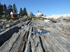 Pemaquid Point Lighthouse (RonG58) Tags: pictures new trip travel light summer sky usa lighthouse color reflection nature forest landscape geotagged photography us photo woods day image photos live maine picture images photograph digitalcamera exploration mori pemaquid mainecoast photooftheday picoftheday pemaquidpoint greatphotographers fugifilm pemaquidpointlighthouse laforêt dailynaturetnc12 rong58 finepixhs50exr
