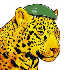 Onça Exército - Defesa Amazônia - close (Saulo Cruz) Tags: amazon drawing oz free shield wacom defense charge protect onça amazônia proteger protetor defesa exércitobrasileiro brazilianarmy saulocruz