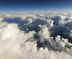 Flying from Hannover to Birmingham (davetonkin) Tags: sky clouds flying aerial propellor airtravel 140mmf25