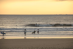 Rest Bay 23/09/13 (Tim Bow Photography) Tags: uk sunset sea people water wales surf britain offshore surfing september sunsetglow swell restbay restbayporthcawl timbowphotography