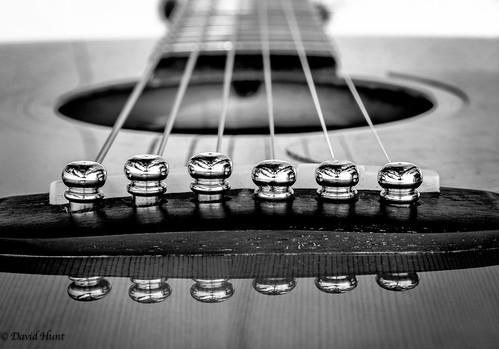 Guitar Pin Reflection