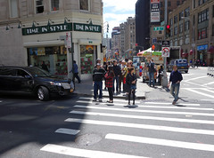 time in style (Visual Thinking (by Terry McKenna)) Tags: nyc broadway smallgroup longshot infocus highquality