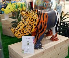 No 101, Rafiki, Warriewood Shopping Centre, Warriewood, Sydney, NSW. (dunedoo) Tags: sydney australia rhino nsw newsouthwales warriewood nikonl820 rhinoisaworkofart warriewoodshoppingcentre