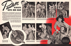 Paulette Goddard, Spot magazine vol 1 #2, October 1940 (Tom Simpson) Tags: woman sexy vintage women femme 1940 1940s pinup domme dominatrix paulettegoddard