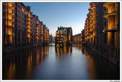 Hamburg Speicherstadt (schmilar77) Tags: deutschland hamburg architektur dämmerung abenddämmerung blauestunde tageszeit
