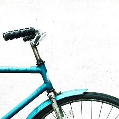 bicycle bike square vscocam lgnexus4 mobile cameraphone... (Photo: borishots on Flickr)