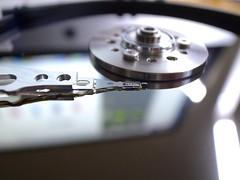 R0045528 (nimbus_2000) Tags: japan tokyo mirror harddisk disk hdd harddiskdrive tôkyô