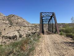 BRIDGE SOUTH WEST OF WAYNE ALBERTA (jasonwoodhead23) Tags: railroad bridge abandoned cn hiking wayne rail alberta
