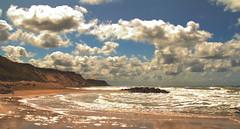 Lönstrup (gutlaunefotos ☮) Tags: meer wolken dänemark nordjütland ruhe lönstrup abgeschiedenheit