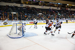 "Missouri Mavericks vs. Ft. Wayne Komets, November 12, 2016, Silverstein Eye Centers Arena, Independence, Missouri.  Photo: John Howe/ Howe Creative Photography • <a style=""font-size:0.8em;"" href=""http://www.flickr.com/photos/134016632@N02/22807411768/"" target=""_blank"">View on Flickr</a>"