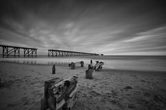 Steetley Pier, Hartlepool (Mike Fellows) Tags: steetley pier hartlepool pentax k3 sigma 1020 coastal north east mono silver efex pro nd 10 stop long exposure