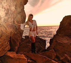 Song of the Sirens (sunrise0815) Tags: glamorous noble sinful pointdume zumabeach malibu rocks tanned miniskirt boots blondebabe infinity ocean sea nature shore homeagain home beautyofnature beauty beach waves sunset dream dreamful girly girl emotion love longingforhome desire blonde jennarogers blondejenna jenna songofthesirens photo california sunrise portrait sexy shortdress skin feeling air highheels mermaids romantic micromini legs heels seduction tease temptation eyes paradise landscapeshot americangirls cute jennarogersforyou lingerie model naked lips upskirt woman outside wetlook