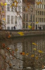 Beloved Brugge (Natali Antonovich) Tags: belovedbrugge brugge bruges belgium belgique belgie autumn pensiveautumn architecture landscape citylandscape reflection canal water lifestyle style oldtown oldtime oldworld oldest