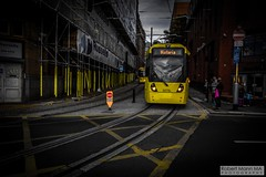 ManchesterVictoria2016.10.09-35 (Robert Mann MA Photography) Tags: manchester manchestervictoria manchestercitycentre greatermanchester england victoria victoriastation manchestervictoriastation manchestervictoriarailstation victoriarailstation city cities citycentre architecture summer 2016 sunday 9thoctober2016 manchestermetrolink metrolink trams tram nightscape nightscapes night light lighttrails