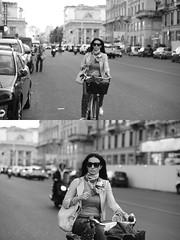 [La Mia Citt][Pedala] (Urca) Tags: milano italia 2016 bicicletta pedalare ciclista ritrattostradale portrait dittico nikondigitale mir bike bicycle biancoenero blackandwhite bn bw 895102