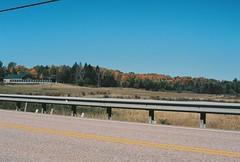 Roadside (Nsharp17) Tags: nikon nikonfe film 35mm kodak ektar ektar100 road vermont foliage autumn fall