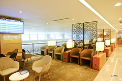 Inside the lounge (A. Wee) Tags: terminal3 cgk jakarta  airport  garudaindonesia lounge