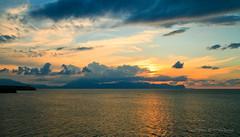 Sep 24: Terrasini Sea Sunset 3 (johan.pipet) Tags: flickr sea terrasini more mediterranean sunset seascape sky skyline nature sicily italy eu europe holiday palo bartos barto canon