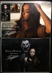 Pshycal Single_Dear Diary - Fighter (5) (Namie Amuro Live ♫) Tags: namie amuro 安室奈美恵 deardiary deathnote fighter poster jacketsscans