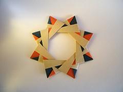 Ostara Star - Maria Sinayskaya (Rui.Roda) Tags: origami papiroflexia papierfalten stern stella estrela ostara star maria sinayskaya estrella toile