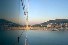 Split! (Herculeus.) Tags: 2016 aug buildings celebrityequinox city croatia cruiseship dalmationmountains day harbors mountains nautical outdoors outside sailboat shipsboats split yachts reflection outdoor ngc 5photosaday