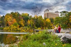 Lover's Haunt (Skand Hurkat) Tags: water autumn cornelluniversity upstateny cornell street ithaca
