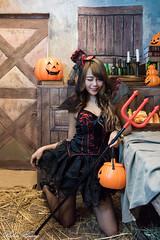 DSC_7429 (Robin Huang 35) Tags: 孫卉彤 candy miruna萬聖風 小惡魔 吸血鬼 vampire 萬聖節 halloween 棚拍 lady girl d810 nikon devil
