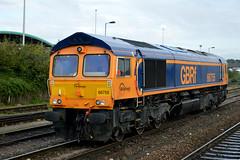 66755, Westbury 12/10/2016 (CF Rail Photography) Tags: 66755 class66 diesel locomotive gbrf gbrailfreight lightengine 0v40 eastleigh westbury 12102016