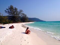 Koh Rong Island, Cambodia (theartoffacilitation) Tags: island beach landscape sand travel realm 2015 camp isolation cambodia sihanoukville kohrong coast seaside asia southeast thebeach
