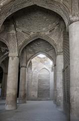 Hallways of Jame Mosque (Ali Shojaee) Tags: isfahan iran iranian art architecture arch dome tile stucco brick mehrab