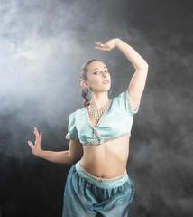 Emma Leigh - 2 (scottnj) Tags: emmaleigh halloween costume model scottnj scottodonnellphotography woman girl fantasy cosplay genie halloweencostume