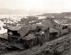 #The ruins of the Mehamn whaling station after the so called 'Mehamn Rebellion', when an angry mob of around 1500 fishermen torched down the building. Full story in comments. (Norway, 1903) [574 x 450] [OS] #history #retro #vintage #dh #HistoryPorn http:/ (Histolines) Tags: histolines history timeline retro vinatage the ruins mehamn whaling station after called rebellion when an angry mob around 1500 fishermen torched down building full story comments norway 1903 574 x 450 os vintage dh historyporn httpifttt2gs5tqr